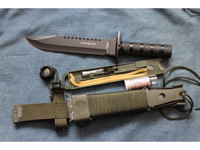 Фото 3 - Нож для выживания
