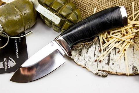Нож Барсук-3, сталь 95х18, кожа - Nozhikov.ru