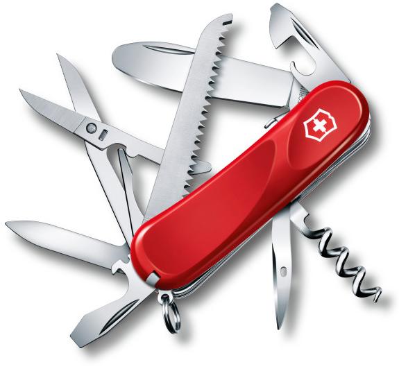 Нож перочинный Victorinox Junior 03 2.3913.SKE 85мм 15 функций красныйШвейцарские армейские ножи Victorinox<br>Модель <br>Junior 03 2.3913.SKE<br>Цвет корпуса <br>красный<br>Размеры <br>85 мм<br>