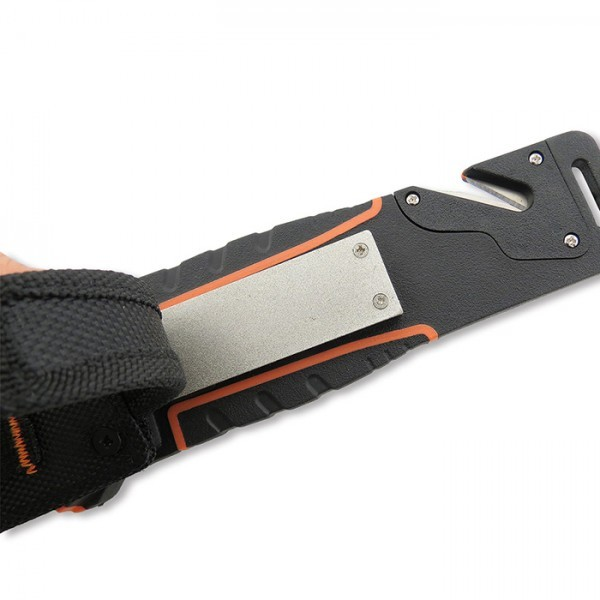 Фото 3 - Нож для выживания Nightingale, orange от WithArmour