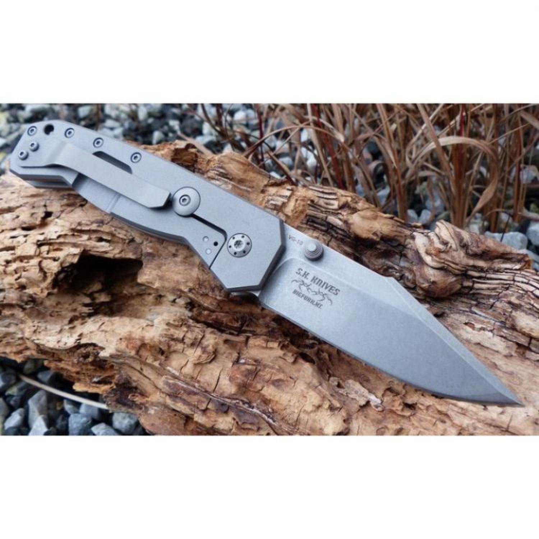 Нож складной Scoundrel Titanium, Boker