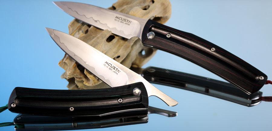 Фото - Складной нож Mcusta MC-0191C, VG-10, дерево