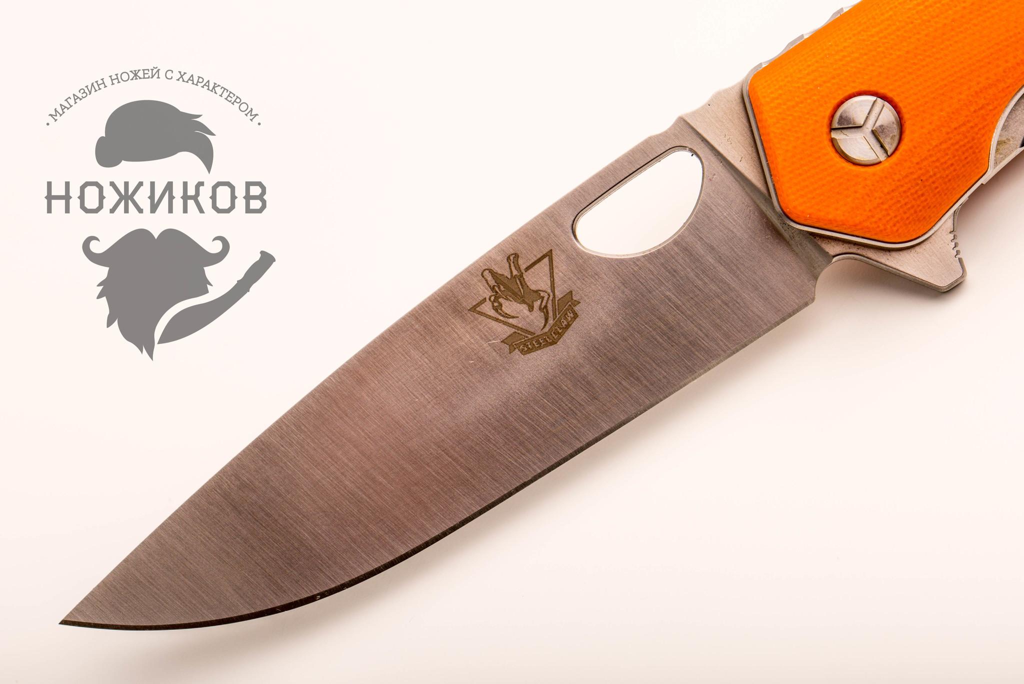 Фото 5 - Складной нож lk5016or, сталь 440C от Steelclaw