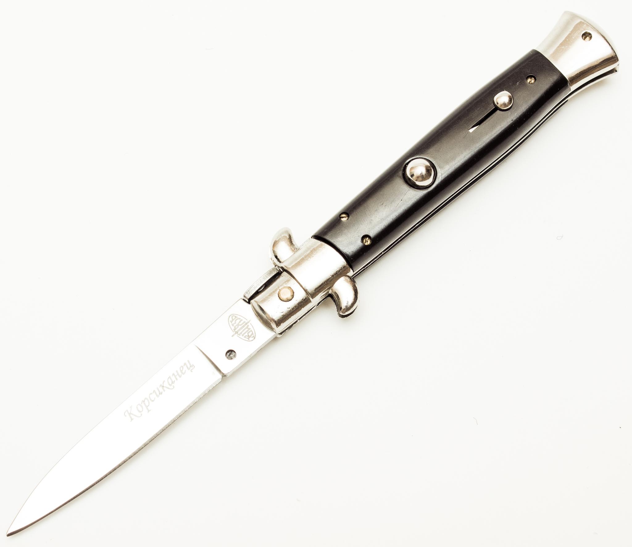 Выкидной нож Корсиканец от Витязь