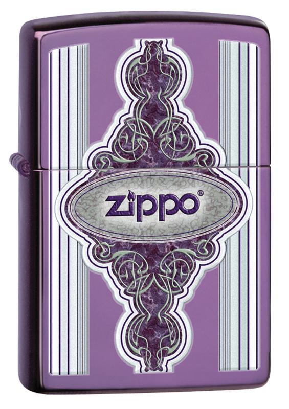 Зажигалка ZIPPO Classic с покрытием Abyss™ зажигалка zippo slim® с покрытием abyss™
