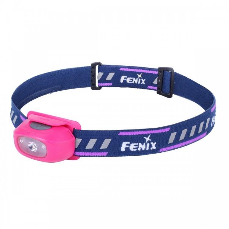 Налобный фонарь Fenix HL16 Cree XP-E2 R3 Neutral White, розовыйБренды ножей<br>Если вы хотите с самого детства приобщить ребёнка к активному отдыху, то туристический налобный фонарь HL16 сможет в этом помочь. Хоть он и предназначен для детей, но функционал у него внушительный. Сделан он из качественного пластика ABS и анодированного алюминиевого сплава, а потому выдержит падение даже с высоты в 1 метр. Кроме того, в фонарь защищён по стандарту IP66. Это значит, что внутрь точно не попадёт пыль и капли дождя также никак ему не повредят.<br>Основной светодиод – американский Crее XP-E2 R3. В компании Fenix выбрали именно его, так как он максимально производительный и даёт белый нейтральный свет, не напрягающий глаза. Максимальная яркость – 70 люмен, а дальность луча – 35 метров. Этого хватит, чтобы уверенно себя чувствовать даже в полной темноте. Без подзарядки фонарь может работать до 75 часов. Кроме основного есть ещё и два дополнительных красных светодиода. Всего присутствует 5 режимов работы.<br>Включение, выключение и изменение режимов выполняется при помощи единственной кнопки, расположенной сверху фонаря. Управление получилось невероятно удобным и интуитивным, так что с ним справится даже ребёнок. На ремешке, который удерживает фонарь, есть светоотражающие полосы. Кроме того, фонарь можно наклонять до 60 градусов вперёд.<br>Особенности:<br><br>основным светодиодом является Cree XP-G2 R5;<br>без батарей фонарь весит 55 грамм;<br>для питания используются одна батарейка АА;<br>пыле- и влагозащита по стандарту IP66;<br>удобное управление при помощи одной кнопки;<br>есть защита от перегрева;<br>максимальная яркость – 70 люмен;<br>присутствует 2 дополнительных красных диода;<br>пять режимов;<br>цифровая стабилизация тока.<br>