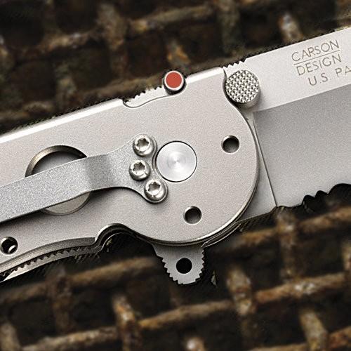 Фото 3 - Складной нож Kit Carson M16 Titanium от CRKT