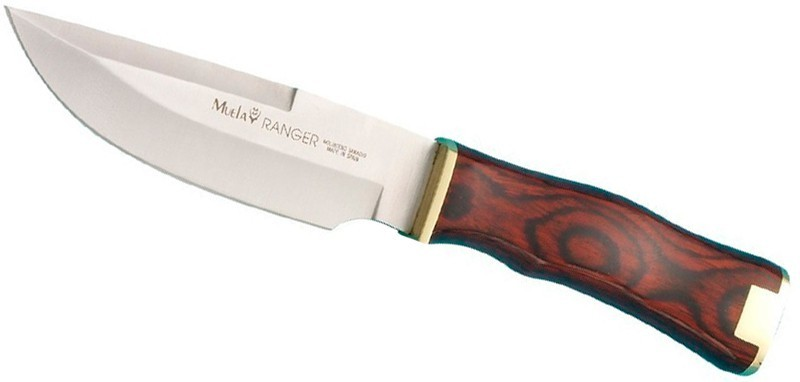 Нож с фиксированным клинком Ranger, Pakka Wood Handles 13.5 см.Испанские ножи Muela<br>Нож с фиксированным клинком Ranger, Pakka Wood Handles 13.5 см.<br>