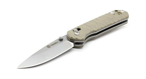 Нож Ganzo G717 желтый - Nozhikov.ru