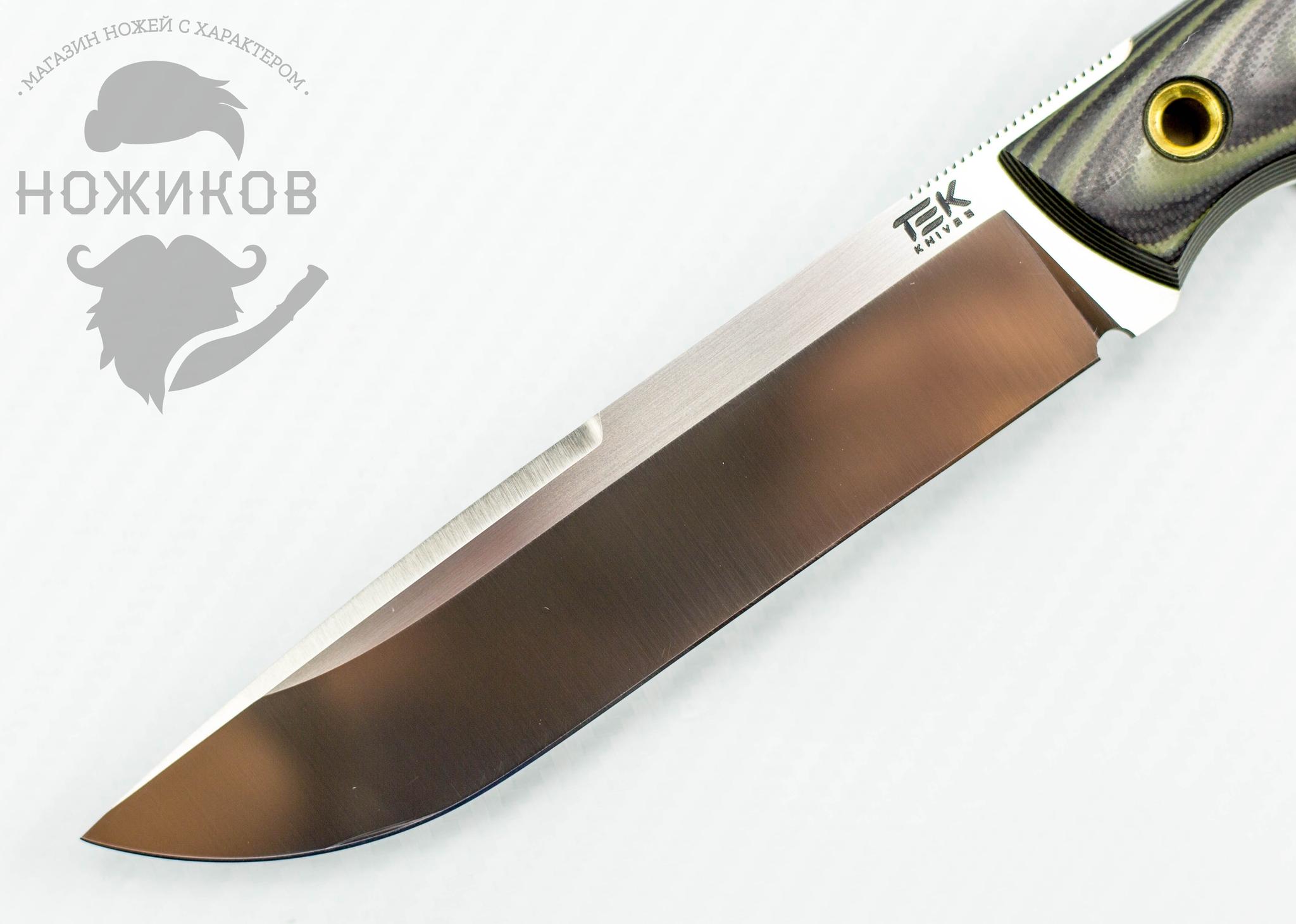 Фото 6 - Туристический нож Shark Green, сталь M390