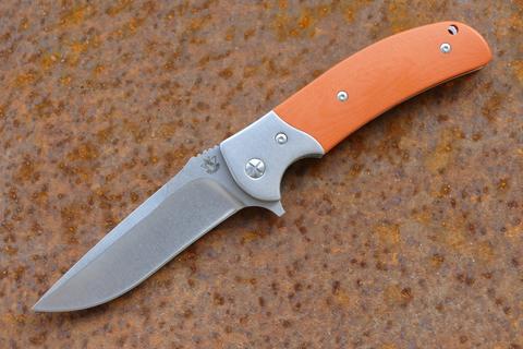 Складной нож Резервист, красный - Nozhikov.ru