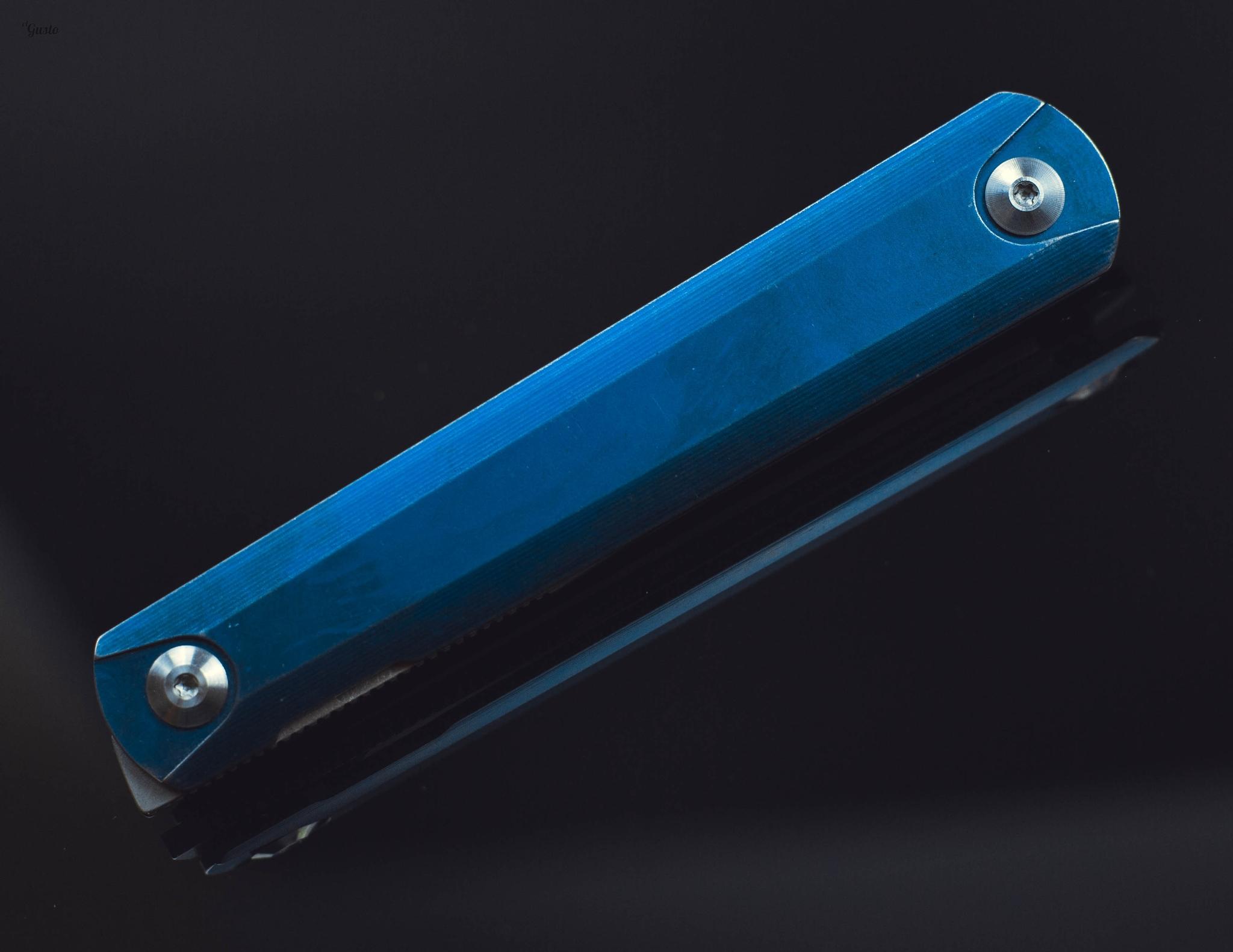 Фото 6 - Складной нож Ben Blue, Replika Ziebr