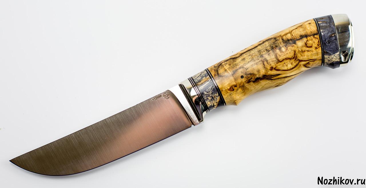 Нож  Приказчикова №3 из Х12МФНожи Павлово<br><br>