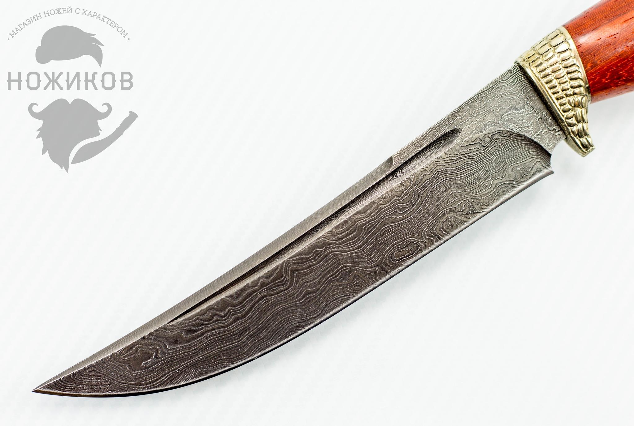 Фото 2 - Авторский Нож из Дамаска №58, Кизляр