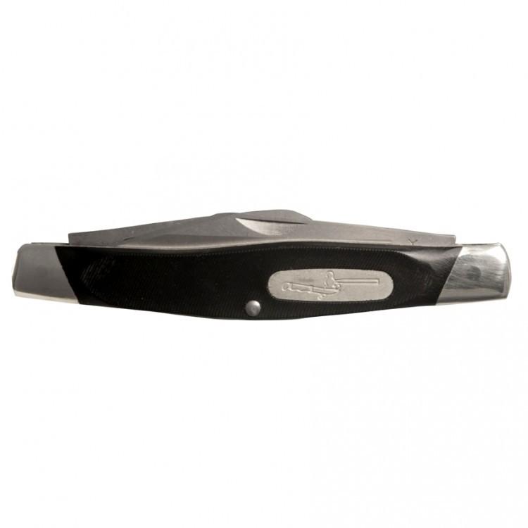 Фото 2 - Нож складной 301 Stockman® - BUCK 0301BKS, сталь 420НС, рукоять пластик Valox®