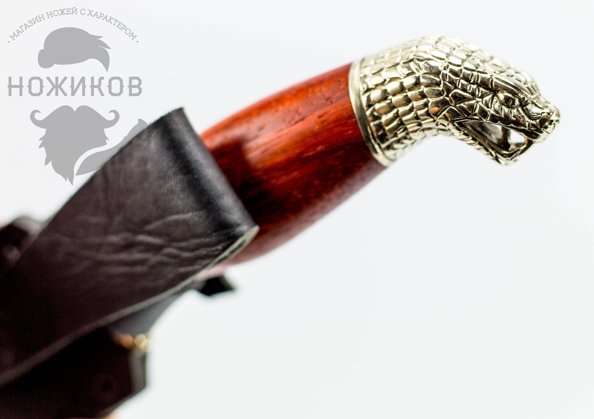 Фото 5 - Авторский Нож из Дамаска №58, Кизляр