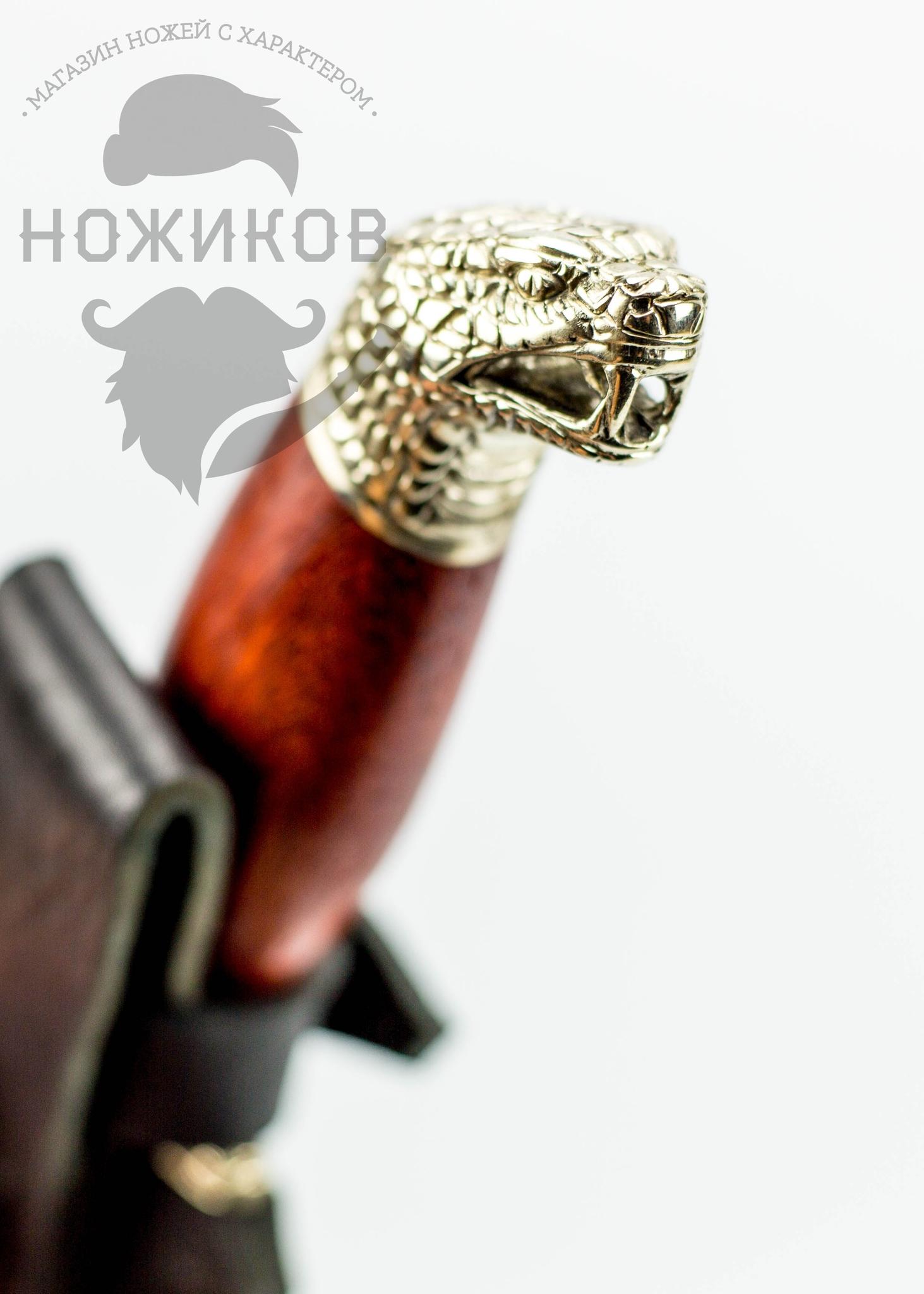 Фото 6 - Авторский Нож из Дамаска №58, Кизляр