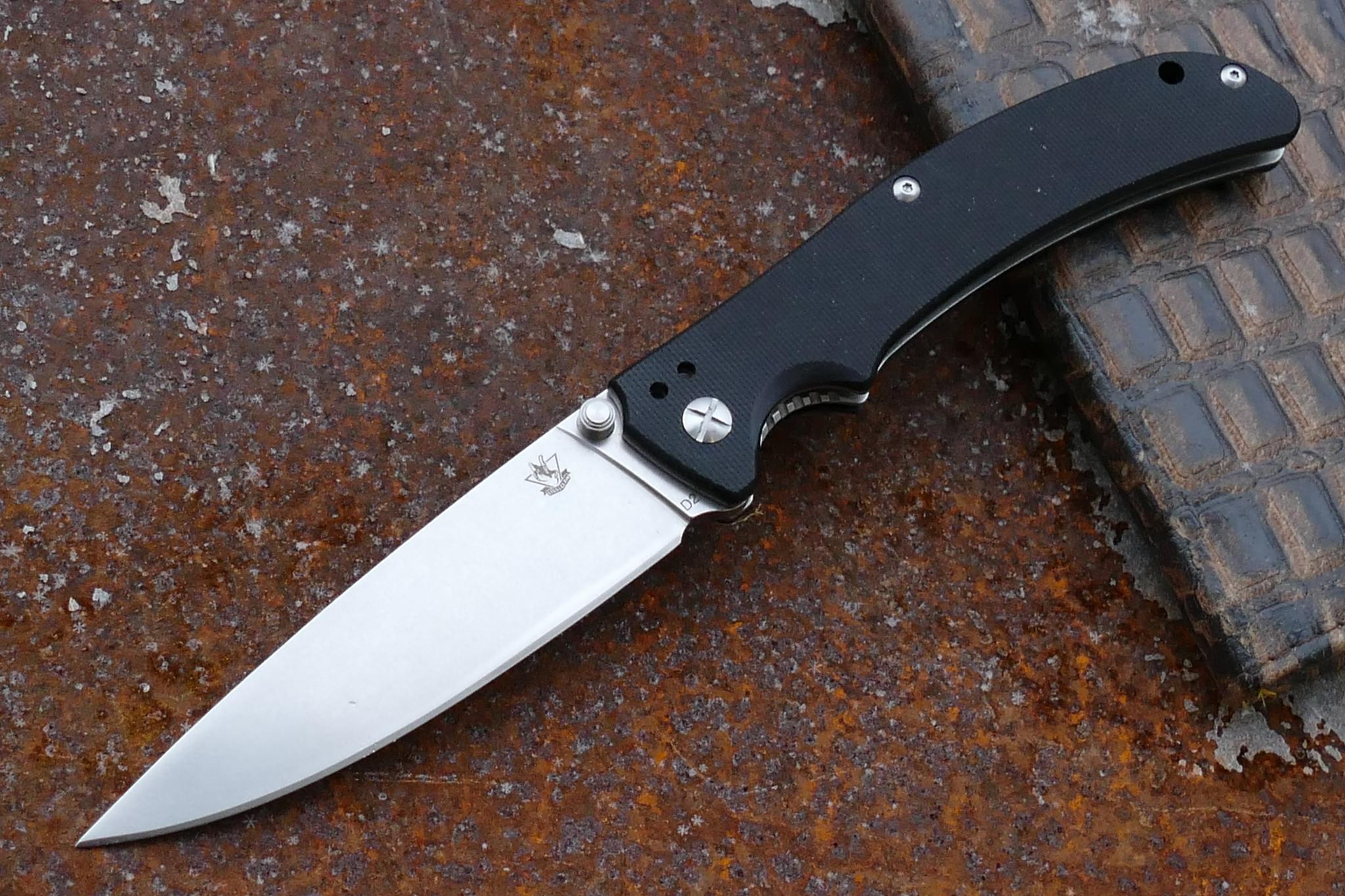 Складной нож Кедр-1, D2 военный нож смерч 1 d2