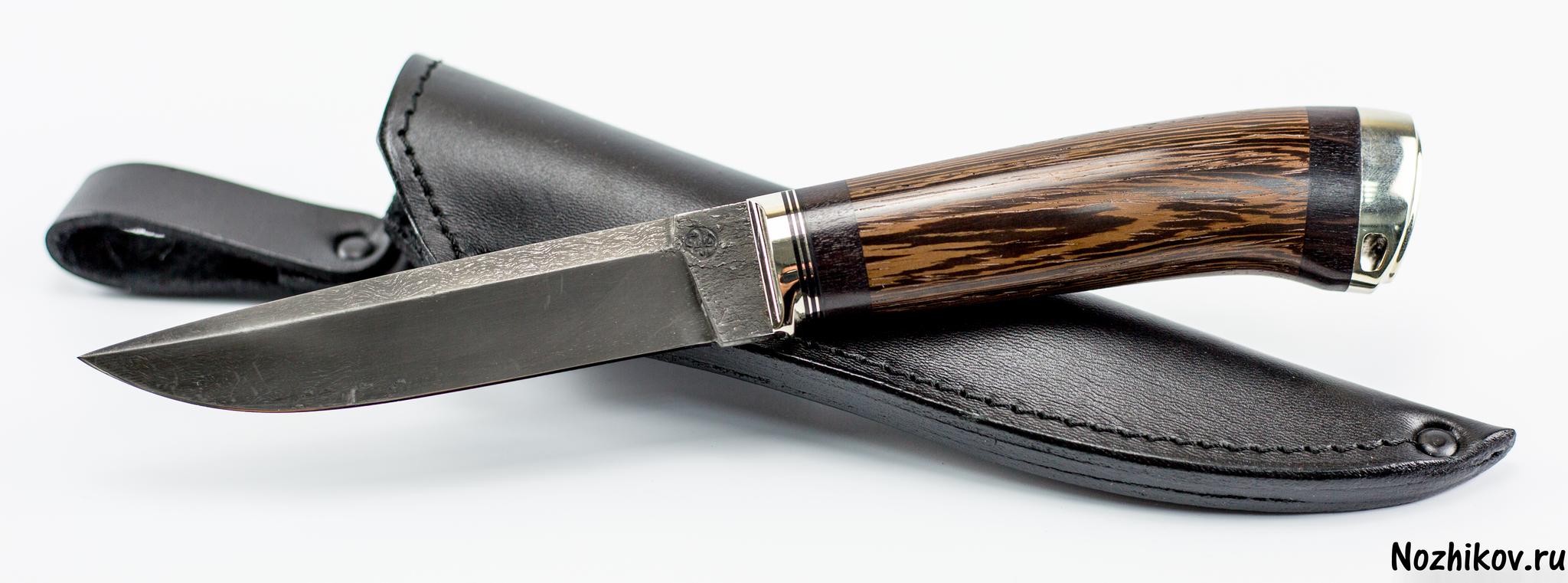 Авторский нож из тигельного булата №1, от ПриказчиковаНожи Павлово<br><br>