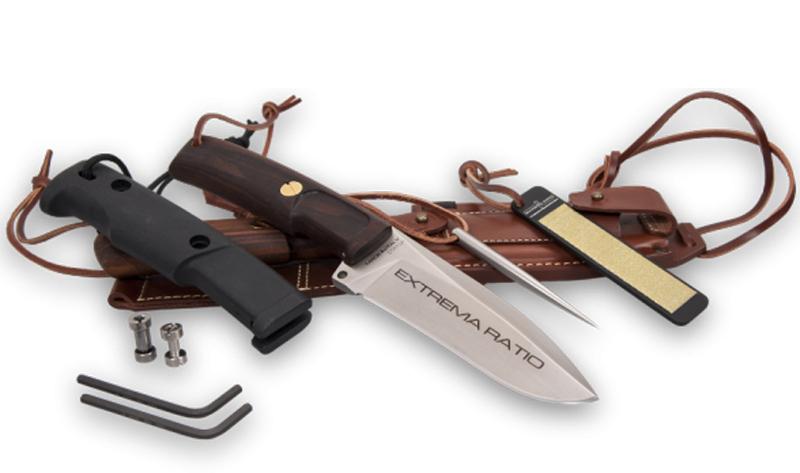 Фото 3 - Нож для выживания с фиксированным клинком Extrema Ratio Dobermann IV S Africa, сталь Bhler N690, рукоять дерево