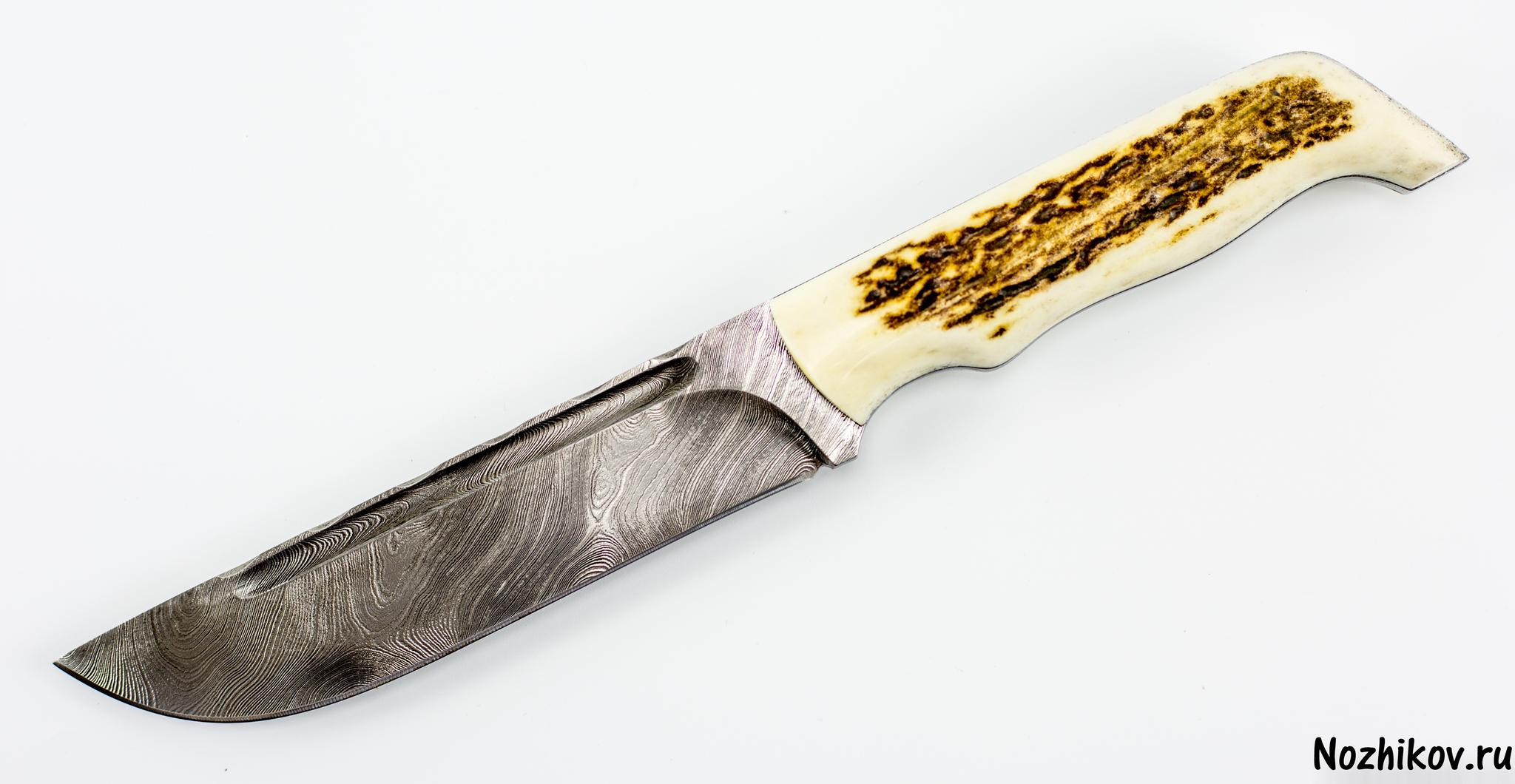 Авторский Нож из Дамаска №13, КизлярНожи Кизляр<br><br>