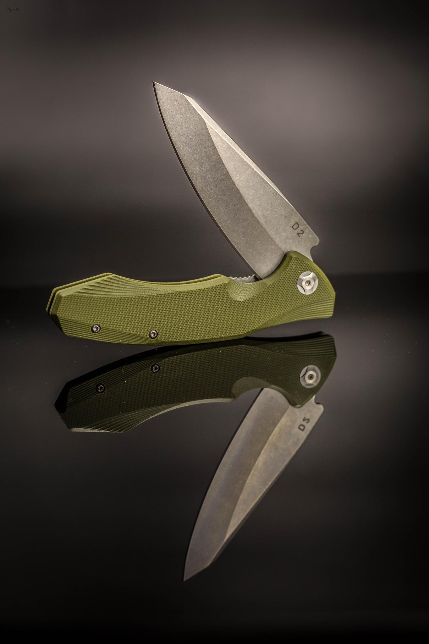 Фото 3 - Складной нож Junior Green, сталь D2