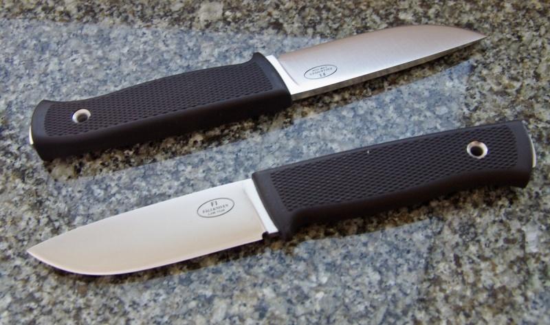 Нож-брелок с деревянной ручкой
