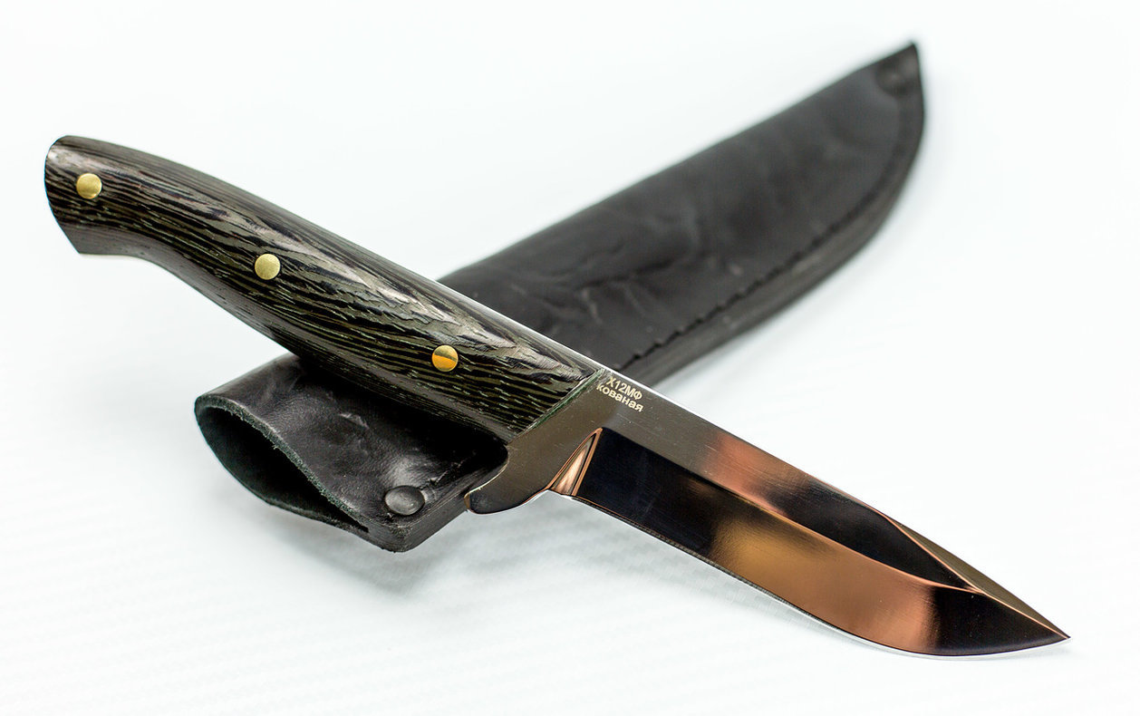 Фото 2 - Нож цельнометаллический Дельфин, Х12МФ от Павловские ножи