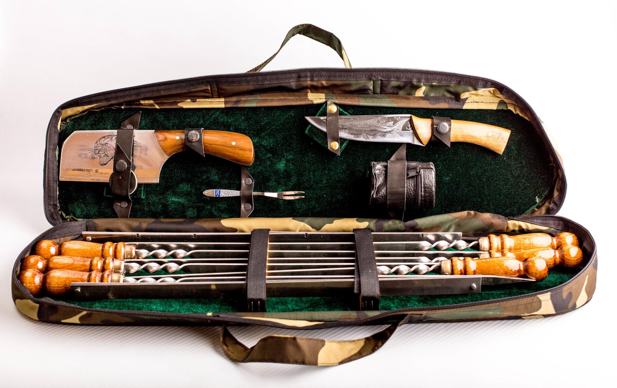Шашлычный набор Камуфляж, Кизляр от Кизляр СТО