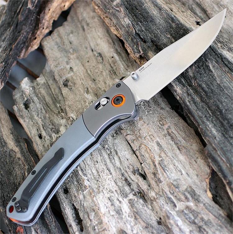 Фото 3 - Нож складной Benchmade Hunt Series Crooked River 15080-1, сталь CPM-S30V, рукоять G10