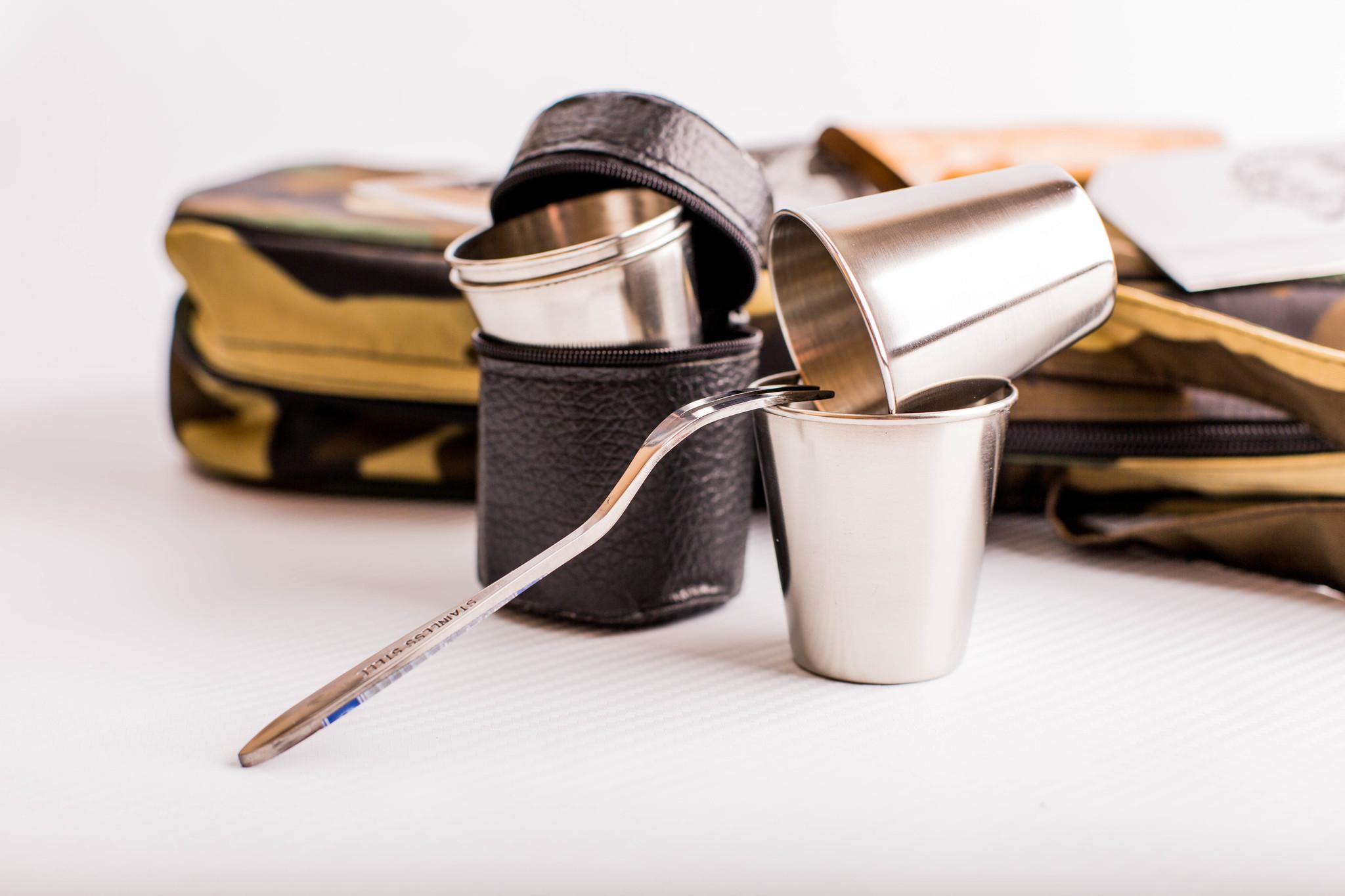 Фото 4 - Шашлычный набор Камуфляж, Кизляр от Кизляр СТО