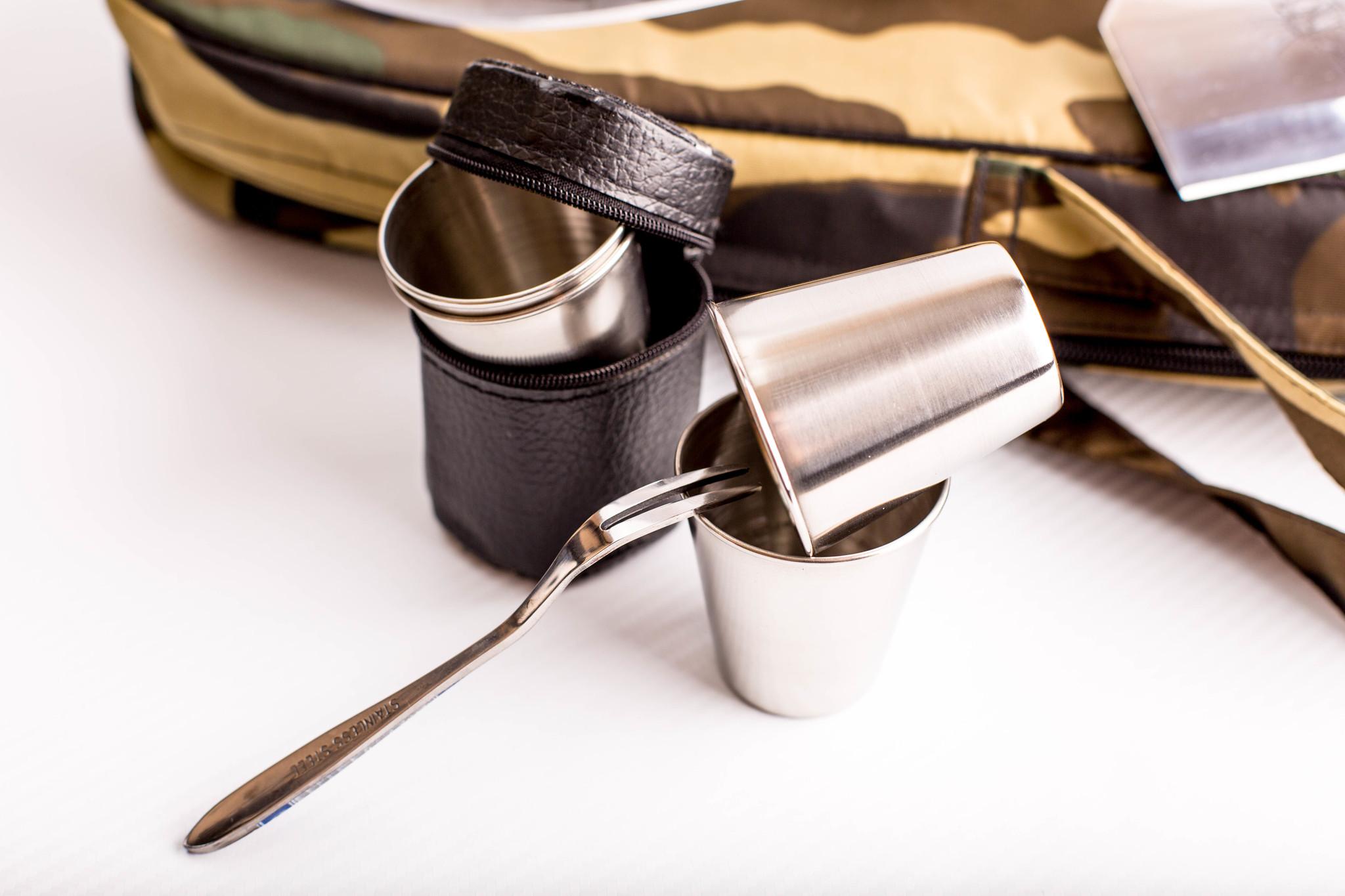 Фото 5 - Шашлычный набор Камуфляж, Кизляр от Кизляр СТО