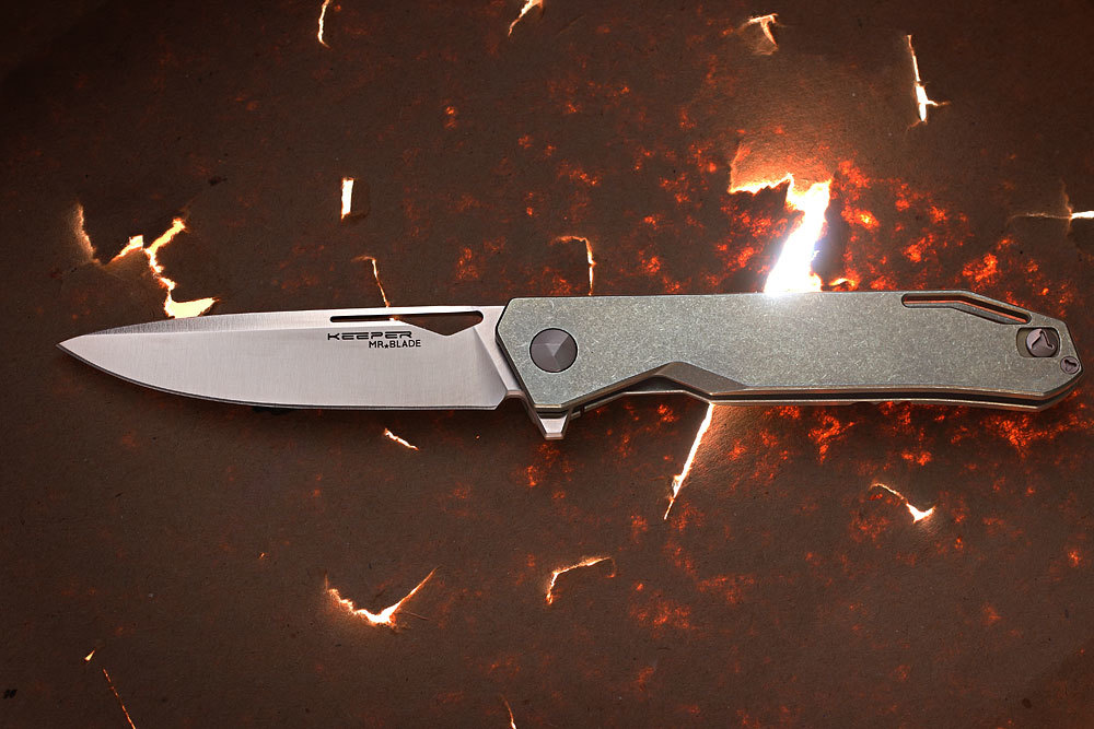 Складной нож Keeper M390/Titanium от Mr.Blade