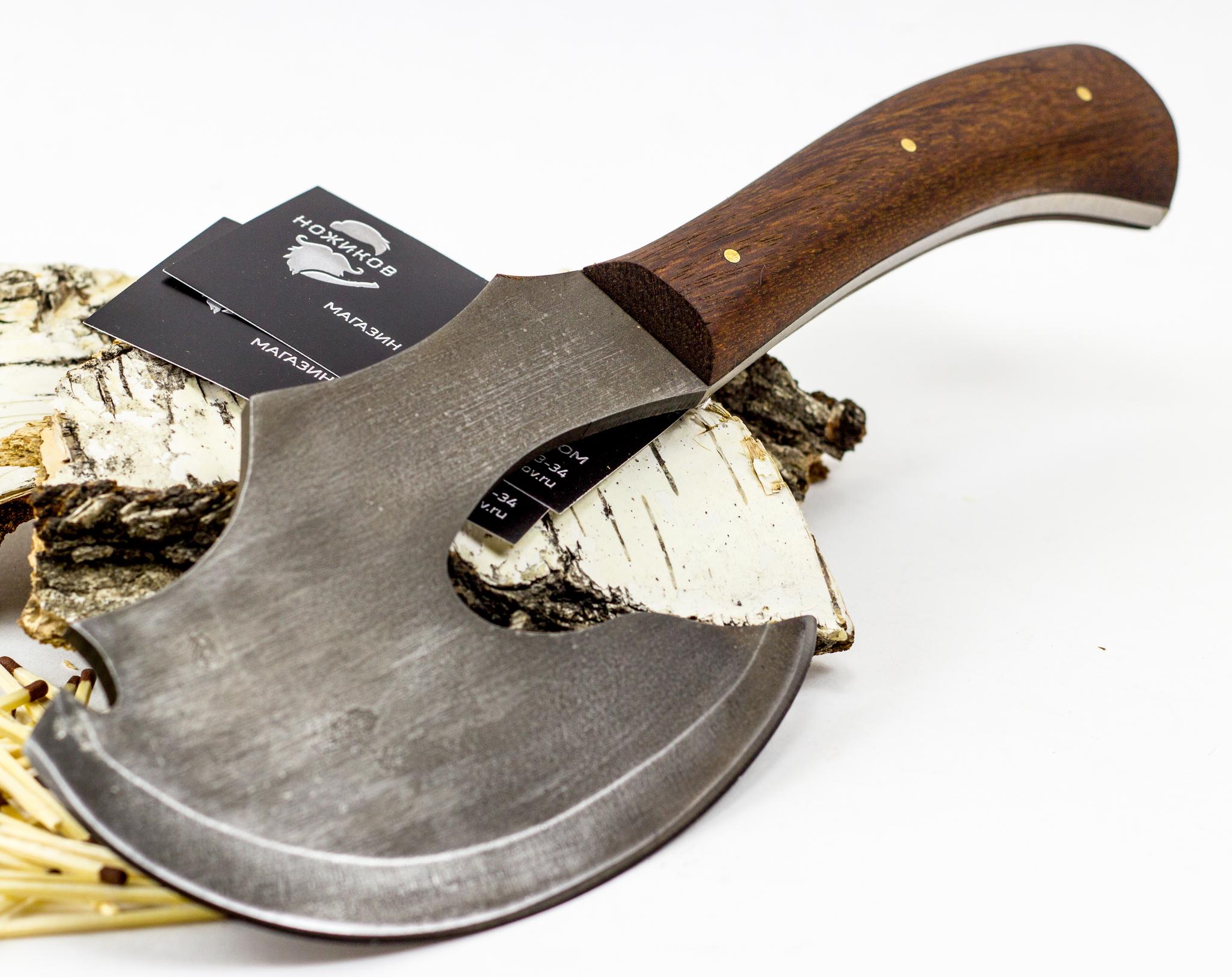 Фото 2 - Топорик Сохатый, сталь 9хс от Промтехснаб