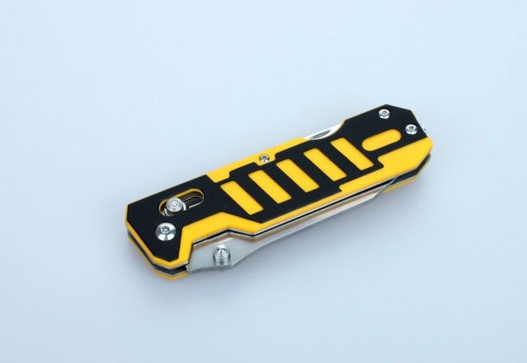 Нож Ganzo G735 черно-желтый