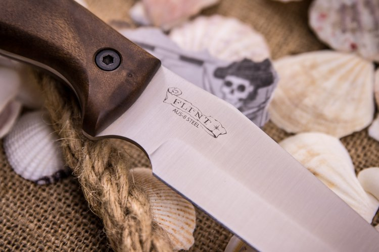 Фото 5 - Нож Flint AUS-8 SW от Kizlyar Supreme