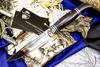 Нож Финка НКВД, сталь 95х18, латунь - Nozhikov.ru