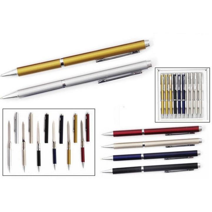 """Скрытая ручка-нож Штурм, красная от Магазин ножей """"Ножиков"""""""