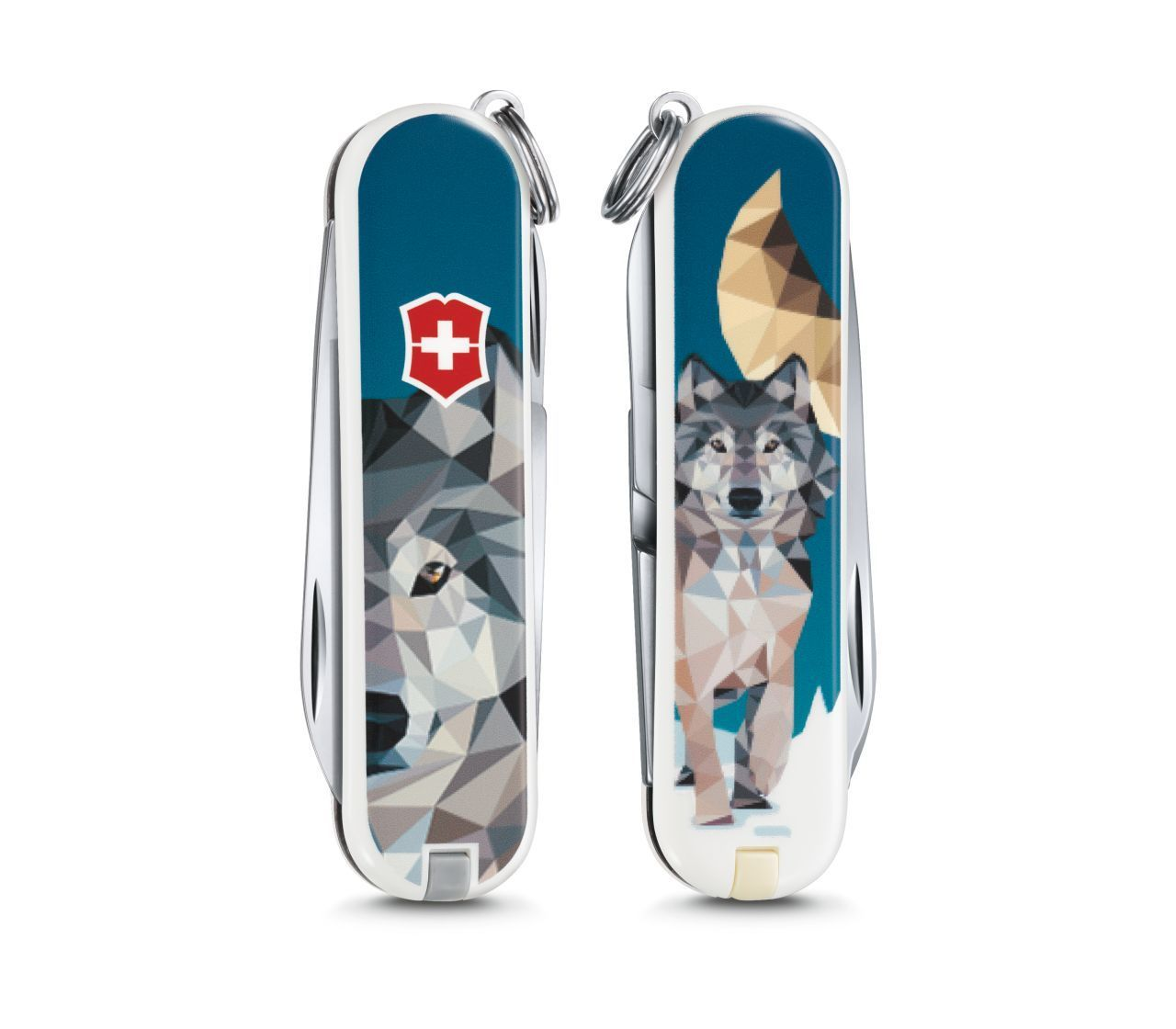 Складной нож Victorinox Classic limited edition 2017 The Wolf is Coming Home (0.6223.L1704) 58мм 7функций нивелир ada cube 2 360 home edition a00448