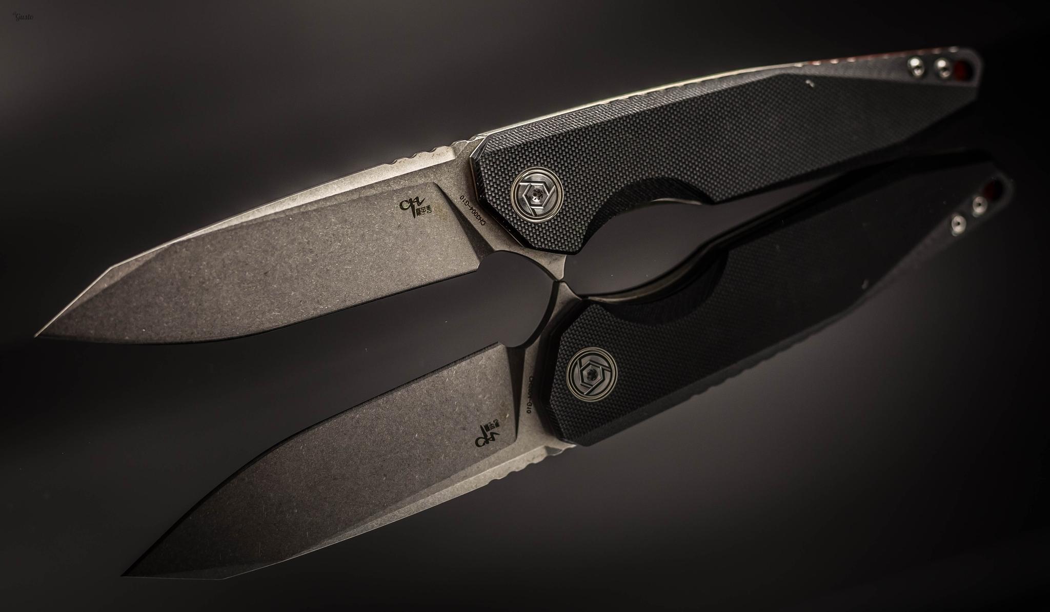 Складной нож CH3004 сталь D2, черный нож складной fellow classic boker сталь 440c черный