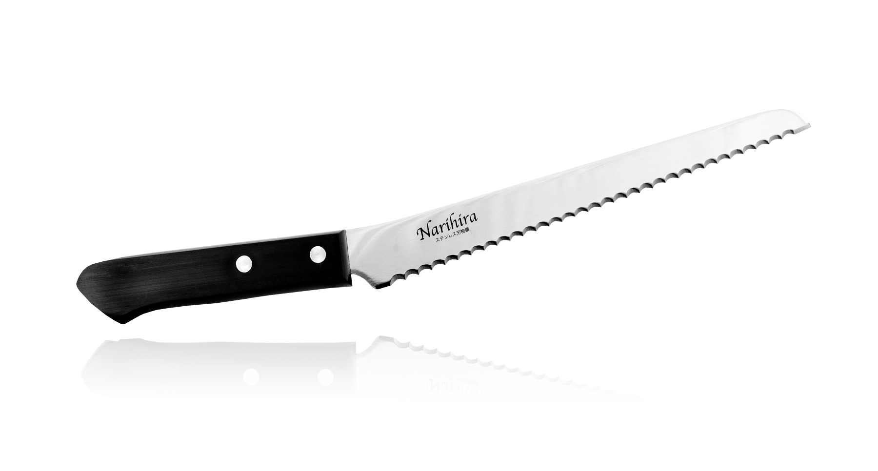 Нож для нарезки хлеба Narihira 200 мм, сталь AUS-8Tojiro<br>Нож для нарезки хлеба Narihira 200 мм, сталь AUS-8<br>