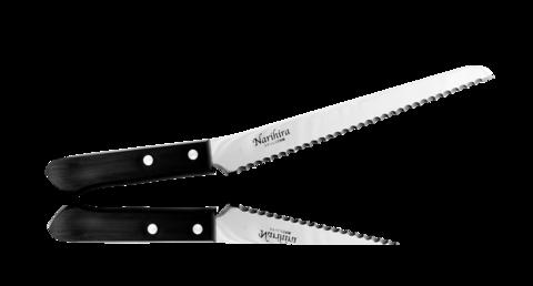 Нож для нарезки хлеба Narihira 200 мм, сталь AUS-8 - Nozhikov.ru