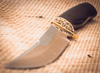 Нож Ворон, алмазная сталь - Nozhikov.ru