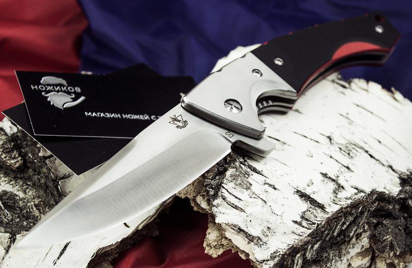 Фото 2 - Складной нож Гадюка, сталь D2 от Steelclaw