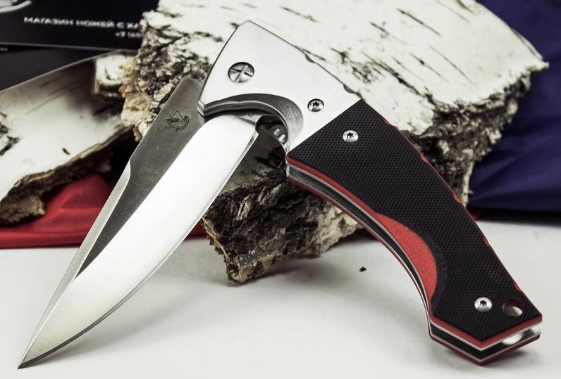 Фото 3 - Складной нож Гадюка, сталь D2 от Steelclaw