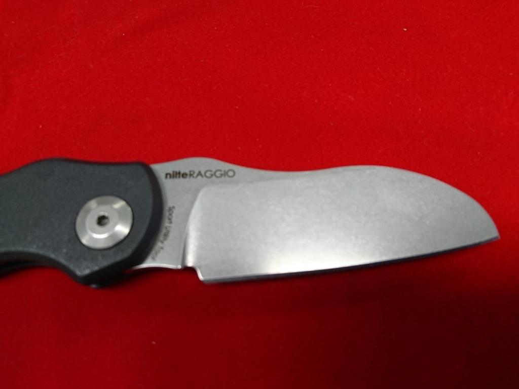 Нож якутский малый из 95Х18, карельская береза