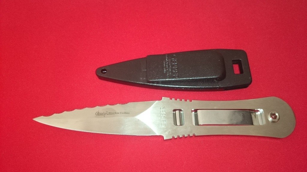 Нож с фиксированным клинком Gerber Clip-Lock RM Limited, Satin Finish Bhler N690, Walter Collins Design 9.8 см.