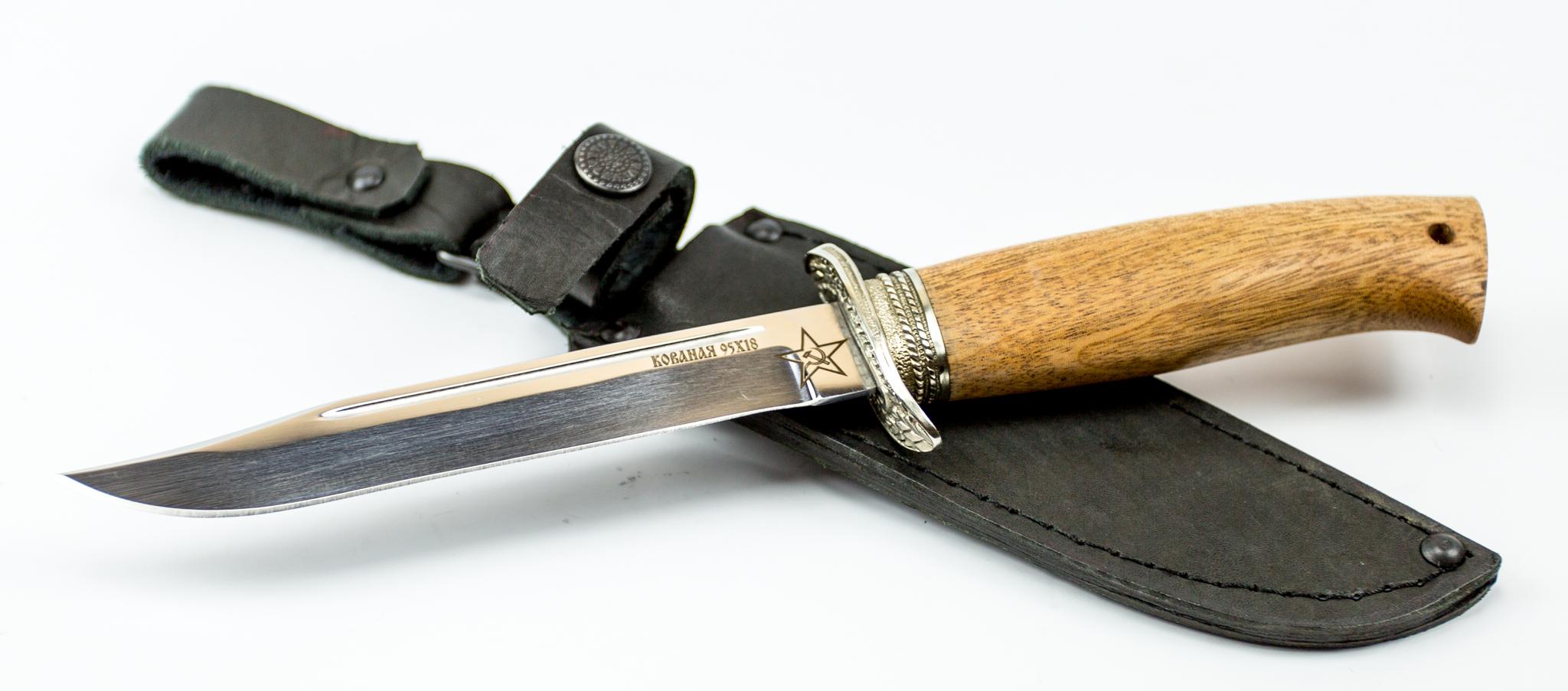 Нож Штрафбат, 95х18, мельхиор