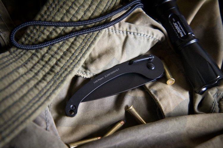 Фото 5 - Складной нож Fluke от Ground Zero