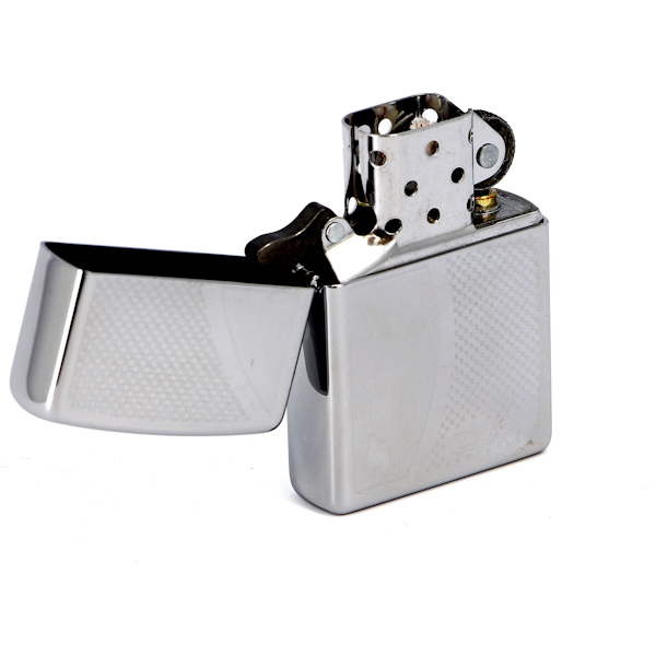 Фото 2 - Зажигалка ZIPPO Shadow Gradiant High Polish Chrome, латунь,ник.-хром.покр.,серебр.,глянц.,36х56х12мм